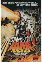 War Machine Ashcan Edition - Marvel Comics Gecko - 1994 - Scott Benson. - $0.97