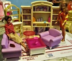 Doll House Furniture - Doll Den,  2 Dolls & more - $35.00