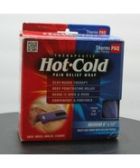 """Thermi Pac Clay Therapy Hot Cold Pain Relief Med 6""""X12"""" Multi Use Velcro... - $17.46"""