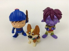 Fisher Price Mike The Knight Toy Figures Lot 3pc Mike Trollee Yip PVC To... - $9.85