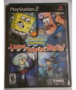 Playstation 2 - SpongeBob Squarepants - Lights, Camera, Pants (Complete) - $8.00