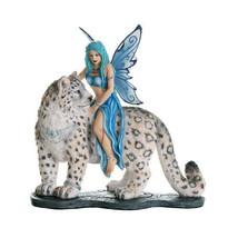 Pacific Giftware Decorative Companion Fairy Hima with Snow Leopard Colle... - $55.43