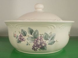 Pfaltzgraff GRAPEVINE Round Covered Vegetable Casserole Bowl Dish Made in USA - $24.70