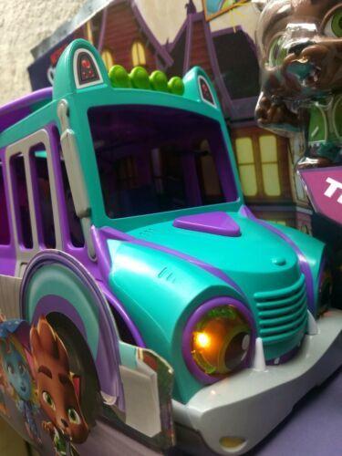 Netflix Playschool Super Monsters GrrBus Monster Bus Toy Lights Sounds & Music  image 2
