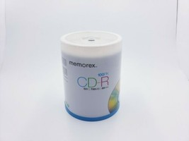 Memorex CD-R Digital Media - 52X 700mb 80Min - 100 Pack, New, Factory Se... - $22.99