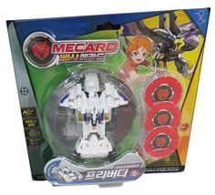 Pasha Mecard Freebirdy Mecardimal Turning Car Vehicle Transformation Toy image 4