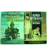 Alfred Hitchcock 2 LOT Haunted Houseful & Solve Them Yourself Mysteries - $9.00