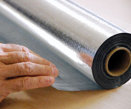 Solid Radiant Vapor Barrier Heat Shield Sauna Attic Foil 2000qft 4ft x 500ft