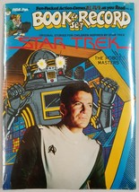 "Star Trek 1979 Peter Pan Book & Record Set Brand New ""The Robot Masters"" - $21.76"