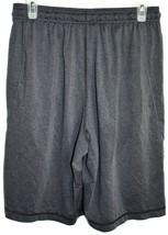 Under Armour Men's Loose HeatGear Dark Gray Notre Dame Logo Athletic Shorts MD image 2