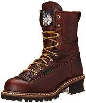 Georgia Boot Men's Loggers G7313 Work Boot,Tumbled Chocolate,11 W US - $157.40