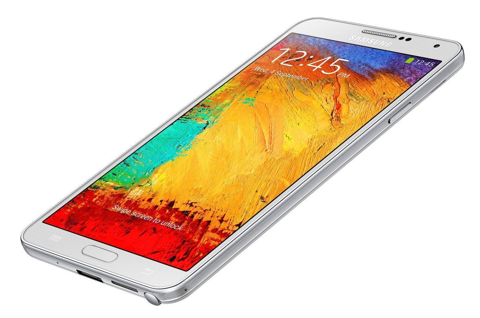 "Unlocked Samsung Galaxy Note 3 SM-N900  32GB 5.7"" Smartphone White"