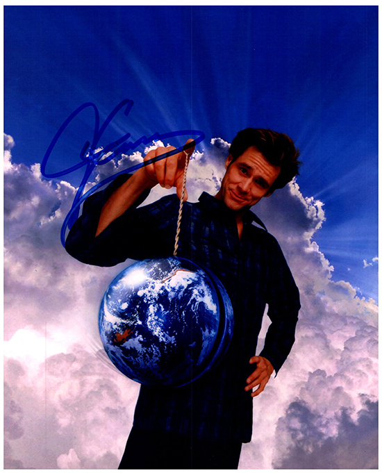 Primary image for JIM CARREY  Authentic Original  SIGNED AUTOGRAPHED PHOTO W/COA 5038