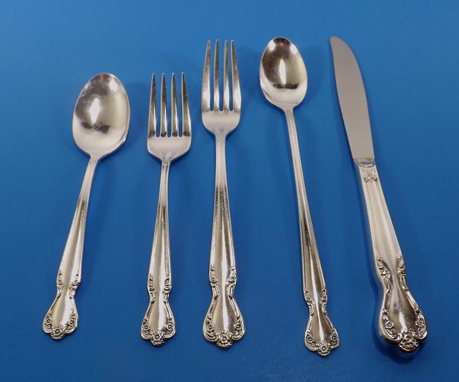 Primary image for ROGERS 1952 DAYBREAK ELEGANT LADY SILVER PLATE FLATWARE-CHOICE OF PIECES