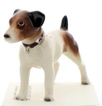 Hagen-Renaker Miniature Ceramic Dog Figurine Jack Russell Terrier - $9.49