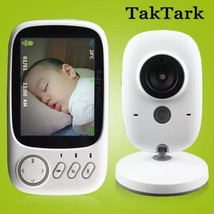 Baby monitor with camera video 3.2 inch wireless high resolution night v... - $68.31