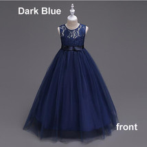 Lace Girl Dress Wedding Bridesmaid Birthday Pageant Formal Gown Princess... - $27.00+
