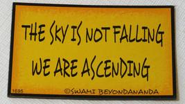 The Sky Non È Cadendo Noi Are Ascending 1695 Magnetic Graffiti Calamita ... - $9.09