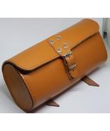 Saddle Tool Bag Genuine Leather Vintage Retro Bicycle HONEY - $20.66