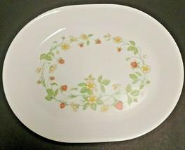 """Corelle Strawberry Sundae 12"""" x 10"""" Oval Serving Platter - $20.56"""
