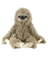 Cuddlekin Three Toed Sloth Plush Stuffed Toy 12'' Animal Wild Republic Kid's Toy - $19.62