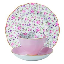 Royal Albert 8704025870 New Country Roses Teacup Saucer and Plate Set Rose Co... - $71.69