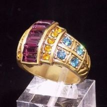 Heidi daus clearly classic blue topaz amethyst citrine colored crystal ring sz 6 4 thumb200
