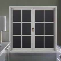 RABBITGOO Blackout Window Film Privacy Window Cling Dark Window Tinting ... - $14.74