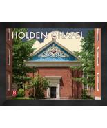 "Harvard University ""Holden Chapel"" 13x16 Art Deco Framed Print  - $39.95"