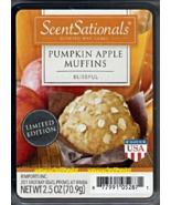 Pumpkin Apple Muffins ScentSationals Scented Wax Cubes Tarts Melts Baker... - $3.50