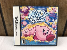 Nintendo DS Kirby Mass Attack Game Case Manual Booklet Only No Game Cart... - $12.19