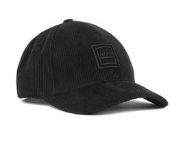Hugo Boss Men's Cotton Corduroy Baseball Cap Hat With Silicone Logo