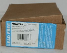 Watts Water Pressure Reducing Valve 0009481 3/4 Inch Connection image 5