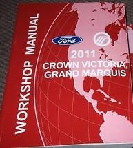 2011 FORD CROWN VICTORIA Service Shop Workshop Repair Manual FACTORY OEM... - $69.25