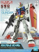Mobile Suit Gundam Entry Grade RX-78-2 1/144 Model Kit ~NEW~ FREE SHIPPING! - $16.14