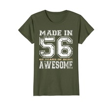 Uncle Shirts -   62nd Birthday Gifts Vintage Made In 1956 Shirts Distres... - $19.95+