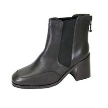 PEERAGE Cheyenne Women's Wide Width Leather Dress Ankle Boots - $44.95