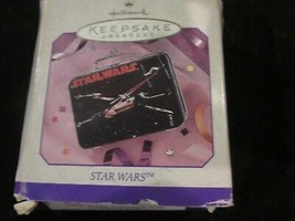 Hallmark Keepsake Ornament 1998 Star Wars Tin Lunch Box Brand New - $9.99