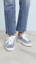 Puma Basket Platform Glitter Sneakers Casual   Sneakers Silver Womens - ... - $35.28