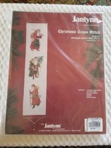 Antique Bell Pull Janlynn Cross Stitch Kit Christmas Holiday Sealed Pack... - $14.00