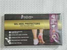 Ballotte - Gel Heel Protectors - 4 Piece Value Pack (NEW/SEALED) - $14.24