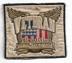 Veteran Proud To Have Served Vietnam Vintage Patch - $12.53
