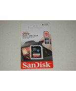 SanDisk Ultra SDHC UHS-I 16 GB Class 10 Flash 48MB/s Memory Card New Ret... - $9.41