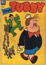 Marge's Tubby Four Color Comic Book #461, Little Lulu Dell Comics 1953 VERY GOOD - $22.17