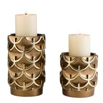 Bronze Mystic Owl Polyresin Candleholders (Set of 2) - $117.19