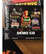 Demo CD Volume III PlayStation RARE - $12.19