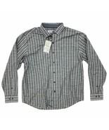 New Tommy Bahama Newport Cimarron Check Long Sleeve Button Down Shirt - $44.99