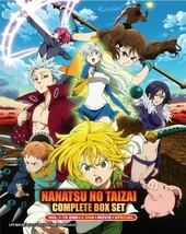 Nanatsu no Taizai Complete Boxset 1-76 +2 OVA+Movie+SP English Dub Ship From USA