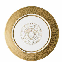 Versace by Rosenthal Medusa Gala Gold Service plate 33 cm Set of 6 - $2,205.85