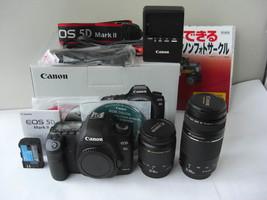 Canon 5 d MarkII. 28 ~ 300 mm tele double zoom lens set - $1,547.69